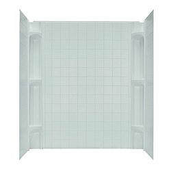 3 Piece Mobile Home Bathtub Wall Kit W Corner Caddies
