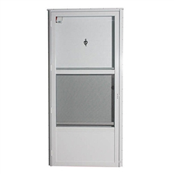 Elixir 6000 mobile home combo door with knocker viewer - Mobile home combination exterior doors ...