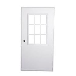 Mobile home replacement exterior door w cottage window - Mobile home exterior door replacement ...