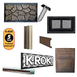 28x70 complete k rok skirting package rustic rock for 16x80 interior door