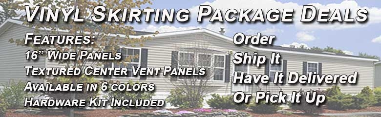 complete-skirting Complete Mobile Home Skirting Packages on complete modular home packages, mobile home underpinning materials, mobile home kitchen packages,