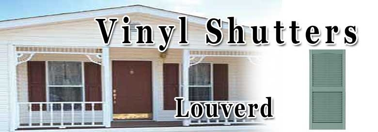 Mobile Home Louvered Shutters Shutters For Mobile Homes