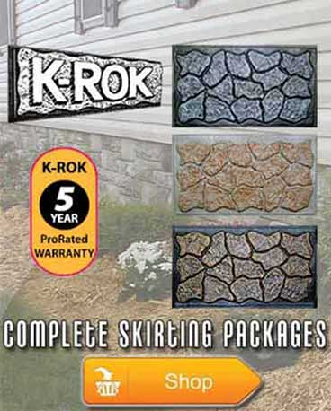 Complete K-Rok Skirting Packages