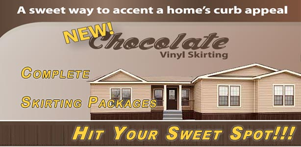 Chocolate Mobile Home Skirting Packages