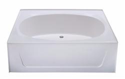 60 x 42 garden tub no step fiberglass Fiberglass garden tubs