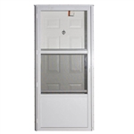 Elixir Series 9000 Vinyl Steel Combo Door - Six Panel Style