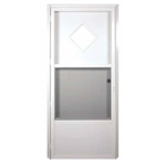 Elixir Series 6000 Housetype Combo Door w/10 x 10 Diamond Window