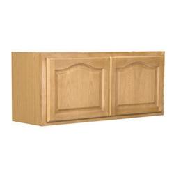 Mobile Home Kitchen Bridge Cabinet Oak 30x15x12