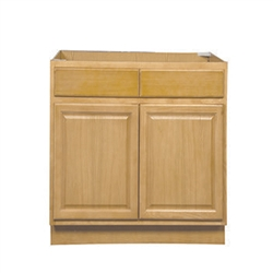 Mobile Home Kitchen Sink Base Cabinet Oak 60x34 5x24