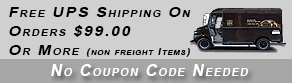 Free UPS Shipping On Orders $99.00 or More